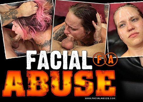 Gloria Gags Degraded on Facial Abuse